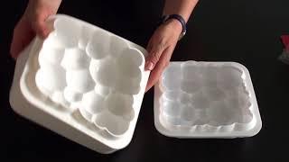 Silikomart или Китай: сравнительный обзор силиконовых форм для муссовых десертов
