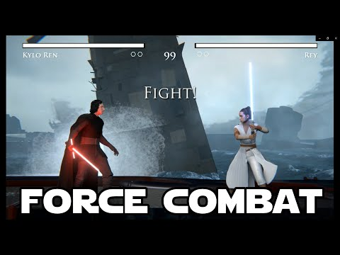 Star Wars Force Combat (Fan-Made Game) Gameplay