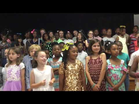 Libertas School - Phillis Wheatley recitation 2019 - 1st conversational chorale - Joshua fit...
