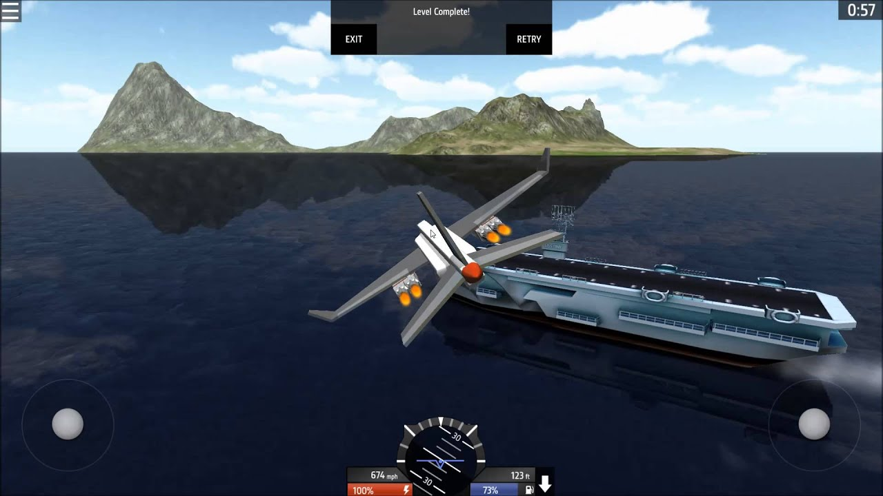 Simpleplanes short carrier take off challenge success youtube publicscrutiny Images