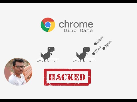 TII: Dino Game Bot Using Javascript Injection