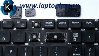 Les instructions pour remplacer monter réparer la touche du clavier Samsung RV509 RC510 RC520