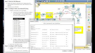 Repeat youtube video CCNA2 4 0 Erouting OSPF PT Practice SBA 2012 Part 2