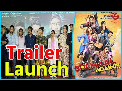 Golmaal Again Trailer Launch | Ajay Devgan | Rohit Shetty | Ajay Devgn