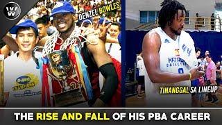Ang Istorya ng PBA Career ni Denzel Bowles | W Stories E1