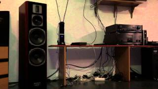 High end audio audiophile top Sony ES i.c.w. Quadral Wotan mkv