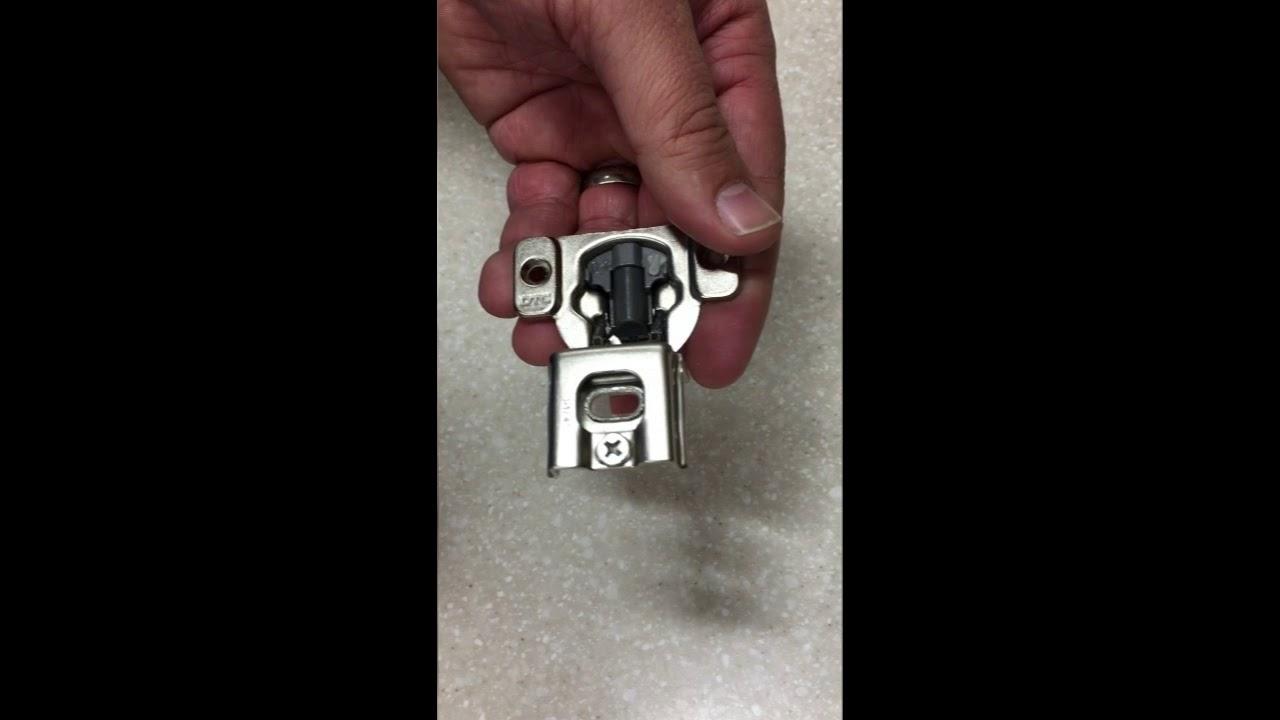 Hinge Restrictor Clip Install