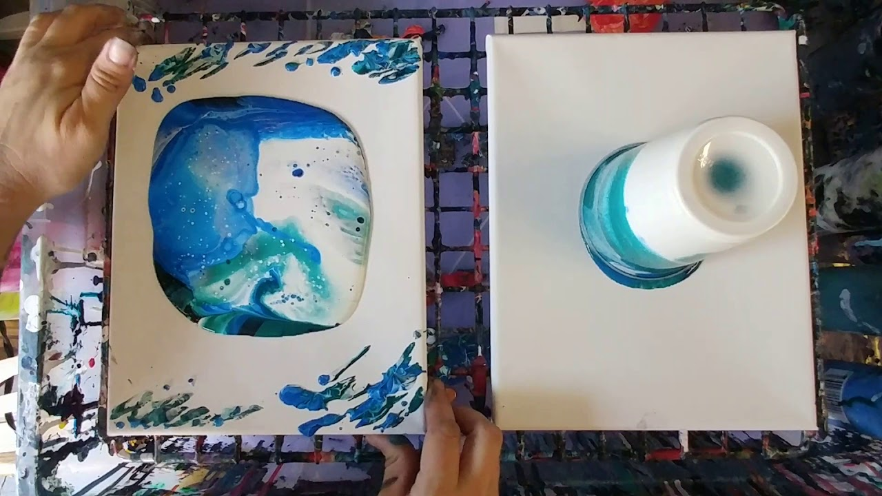 Recipe For Acrylic Paint And Floetrol
