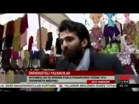 ÜNIVERSİTE MEZUNLARI PAZARCILIĞI TERCIH EDİYOR