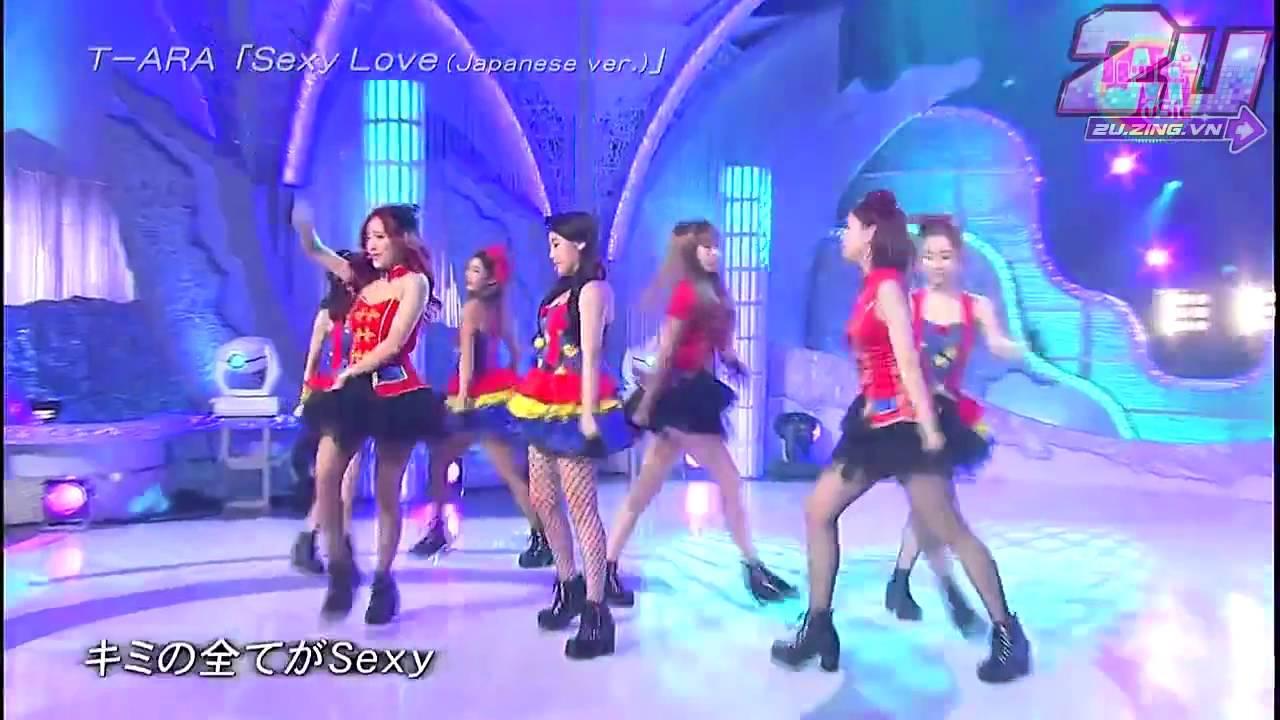 2U zing vn Phong cách thời trang T ara Sexy Love