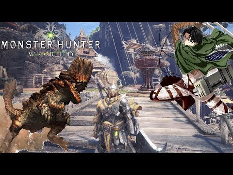 Monster Hunter :World - Greek Gameplay