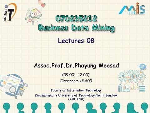Association Analysis and Market Basket Analysis (Lecture 8: Business Data Mining 2-2017)