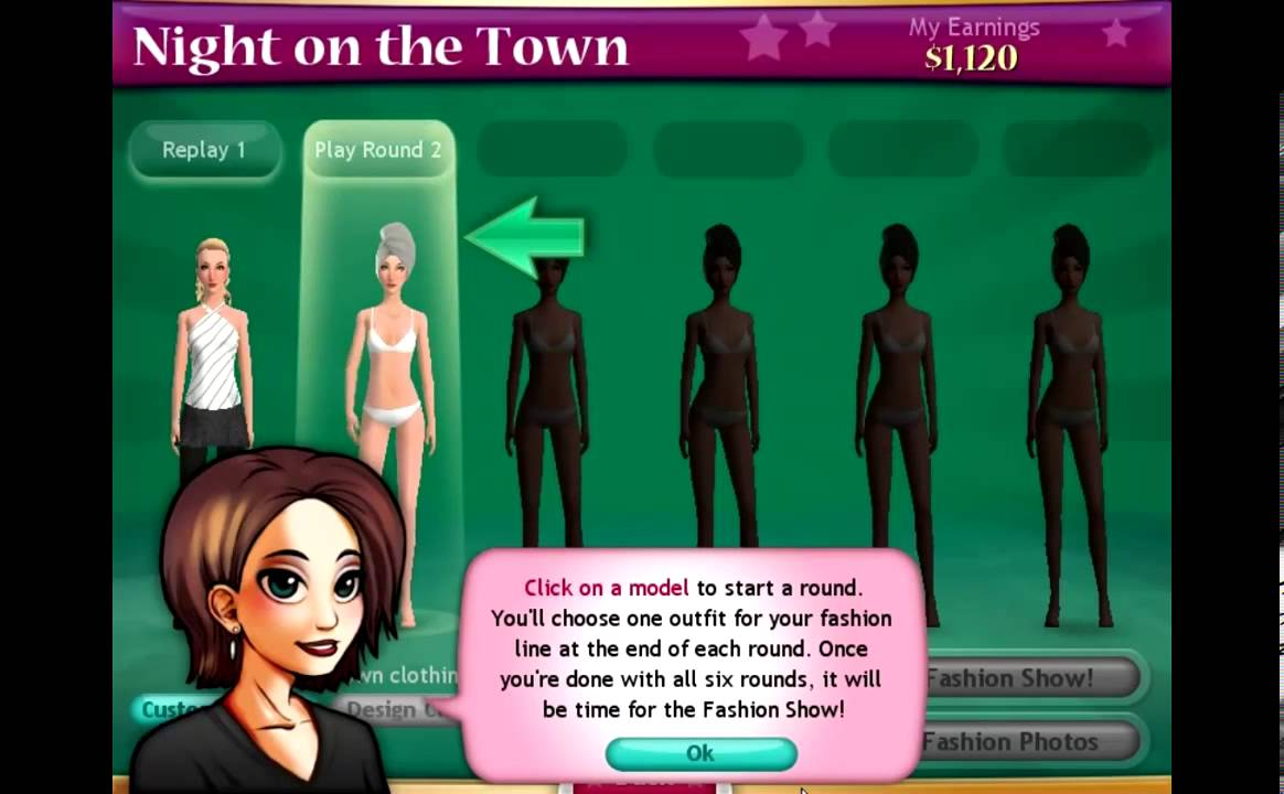 Fashion Solitaire GameHouse 84