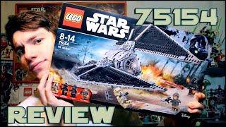 Lego Star Wars 75154 TIE Striker Review | Обзор на ЛЕГО Звездные Войны 75154 СИД Ударный