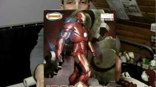 Marvel Ironman Video 1 Iron Man Moebius Plastic Model Kit Review And Build