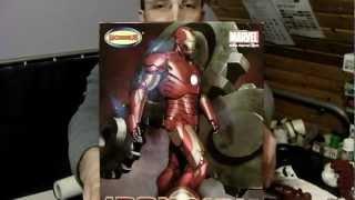 Marvel Ironman Video 1 Iron Man Moebius Plastic Model Kit Review And Build