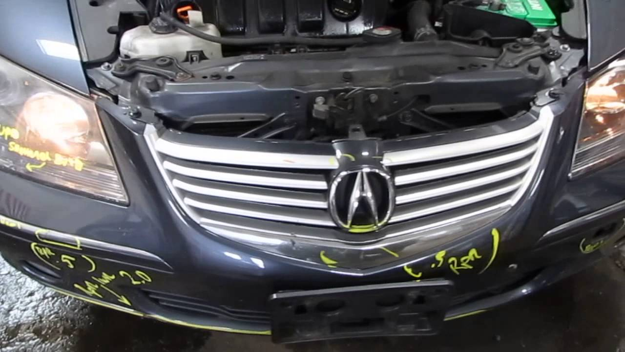 Parting Out A Acura RL Toms Foreign Auto Parts - 2005 acura rl parts