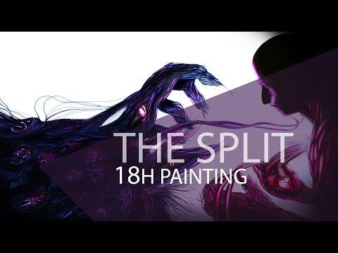 Here, Take it! [The Split Contest] – 18H Photoshop Painting [SpeedART #7]