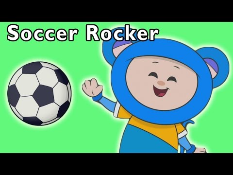 Eep Scores a Goal! | Soccer Rocker and More | Baby Songs fro