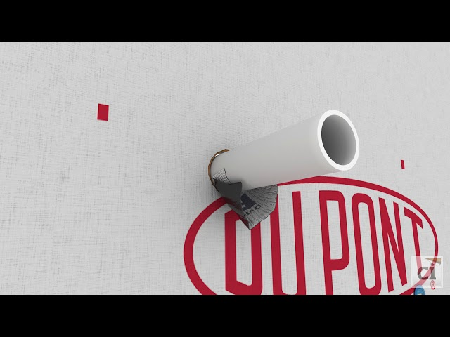 How to install DuPont™ FlexWrap™ EZ around plumbing pipes and penetrations
