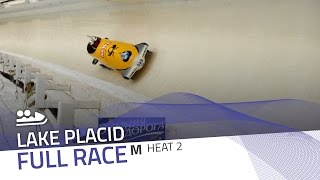 Lake Placid | BMW IBSF World Cup 2016/2017 - 2-Man Bobsleigh Heat 2 | IBSF Official