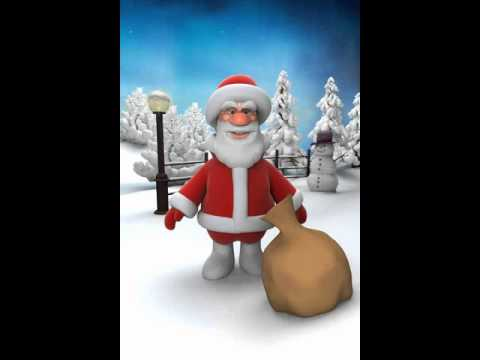 Talking Santa present give away part1