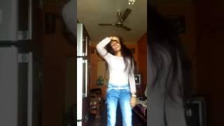 Thrass Hakathi Kannada superb song choreographed and danced by shalini
