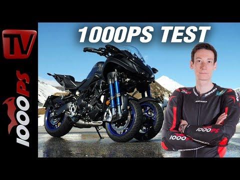 1000PS Test - Yamaha Niken Test Deutsch 2018 - Kein MP3! viel sportlicher!
