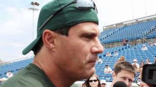 Jose Canseco Ottawa Home Run Derby Media Scrum