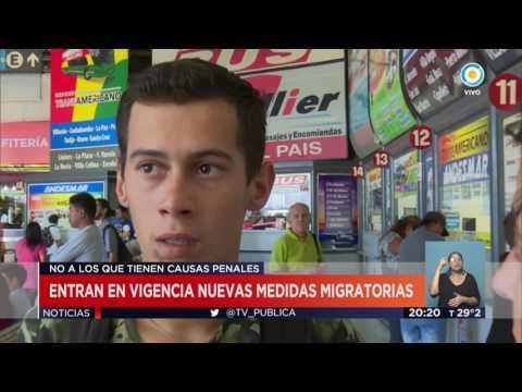 TV Pública Noticias - Argentina impide el ingreso de extranjeros con antecedentes