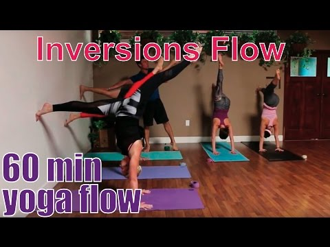60 Minute Yoga Class - Inversion Prep, Practice, & Stretch