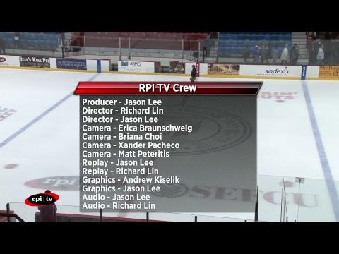 RPI Men's Hockey vs. St. Lawrence University