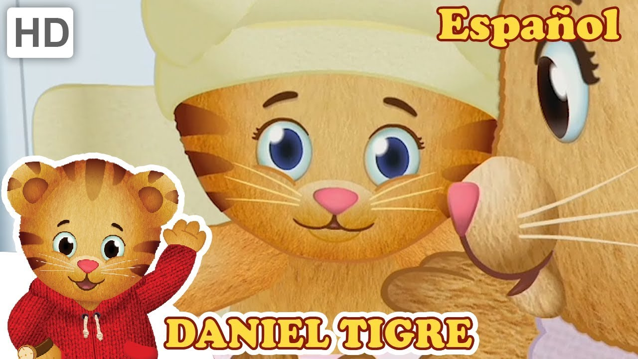 Daniel Tigre en Español 👶 Compartiendo Cosas Viejas con un ...