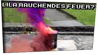Lila Rauch mit Wasser erzeugen? (Aluminium + Iod) - Techtastisch #20