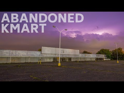 Creepy 1990's ABANDONED Kmart Store