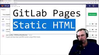 Host Static HTML for Free With GitLab Pages