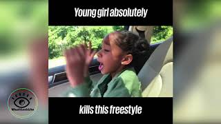Lay Lay Freestyle! Youngest Female Rapper!!!