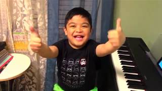 "6-Year Old Renzo Plays ""Darkside"" with Simply Piano by JoyTunes"