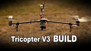 RCExplorer Tricopter V3 - Build Video