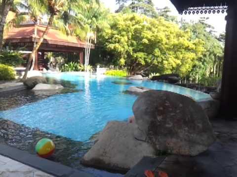 pulai springs resort swimming pool johor bahru youtube