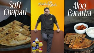 venkatesh bhat makes soft chapathi | aloo paratha | recipe in tamil | soft chapathi | aloo paratha