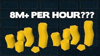 BEST F2P RUNESCAPE MONEY MAKING METHOD   2+ mill per hour
