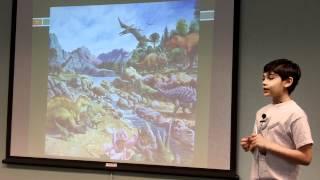 Tanishq Abraham  8 Yr Old Child Prodigy On Dinosaur Extinction Calif EPA Earth Day2012