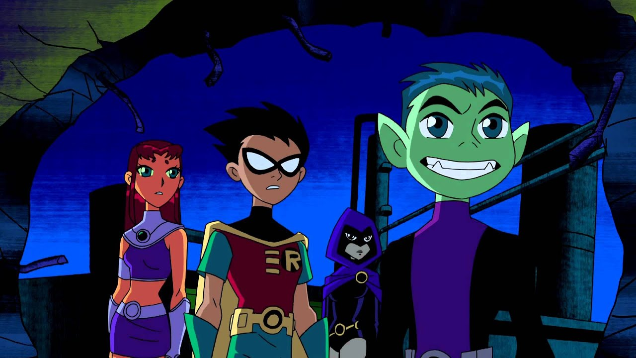 Teen Titans Season 1 Episode 3 Divide And Conquer - Youtube
