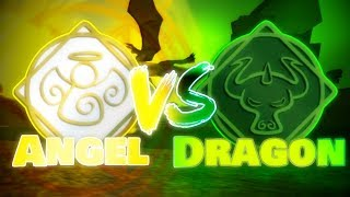 Angel vs Dragon (Collab with Soccer697) | Roblox Elemental Battlegrounds