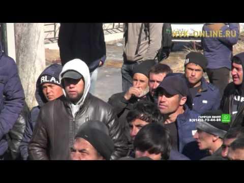 В Якутске мигранты