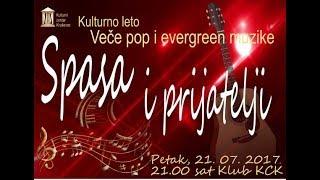 Veče pop i evergreen muzike- Spasa i prijatelji