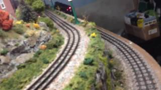my first o scale layout lionel legacy and mth dcs