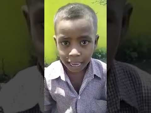 Holi song by cute slum boy..