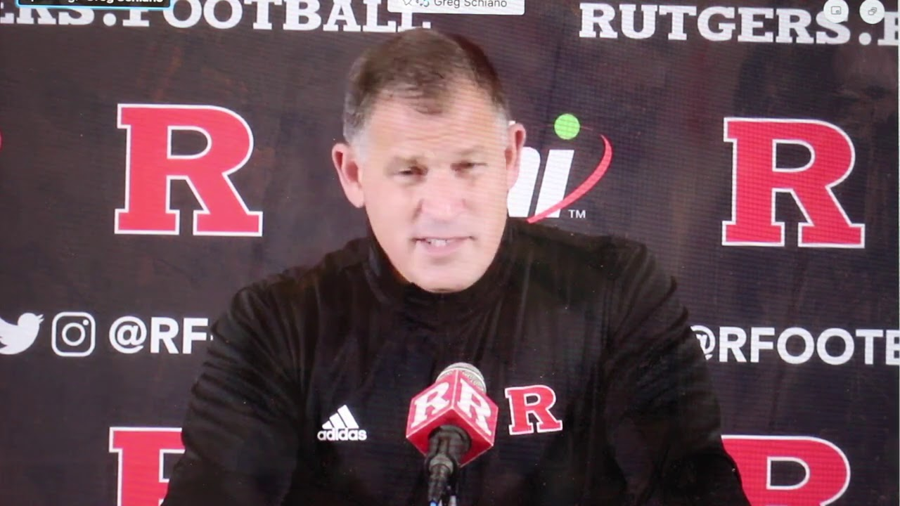 Greg Schiano talks depth chart, previews Michigan State game -- Rutgers Scarlet Knights Football